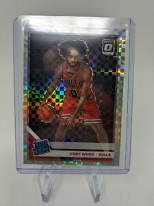 2019-20-Donruss-Optic-Coby-White-Checkerboard-Holo-Rated-Rookie-Card-Prizm-RC