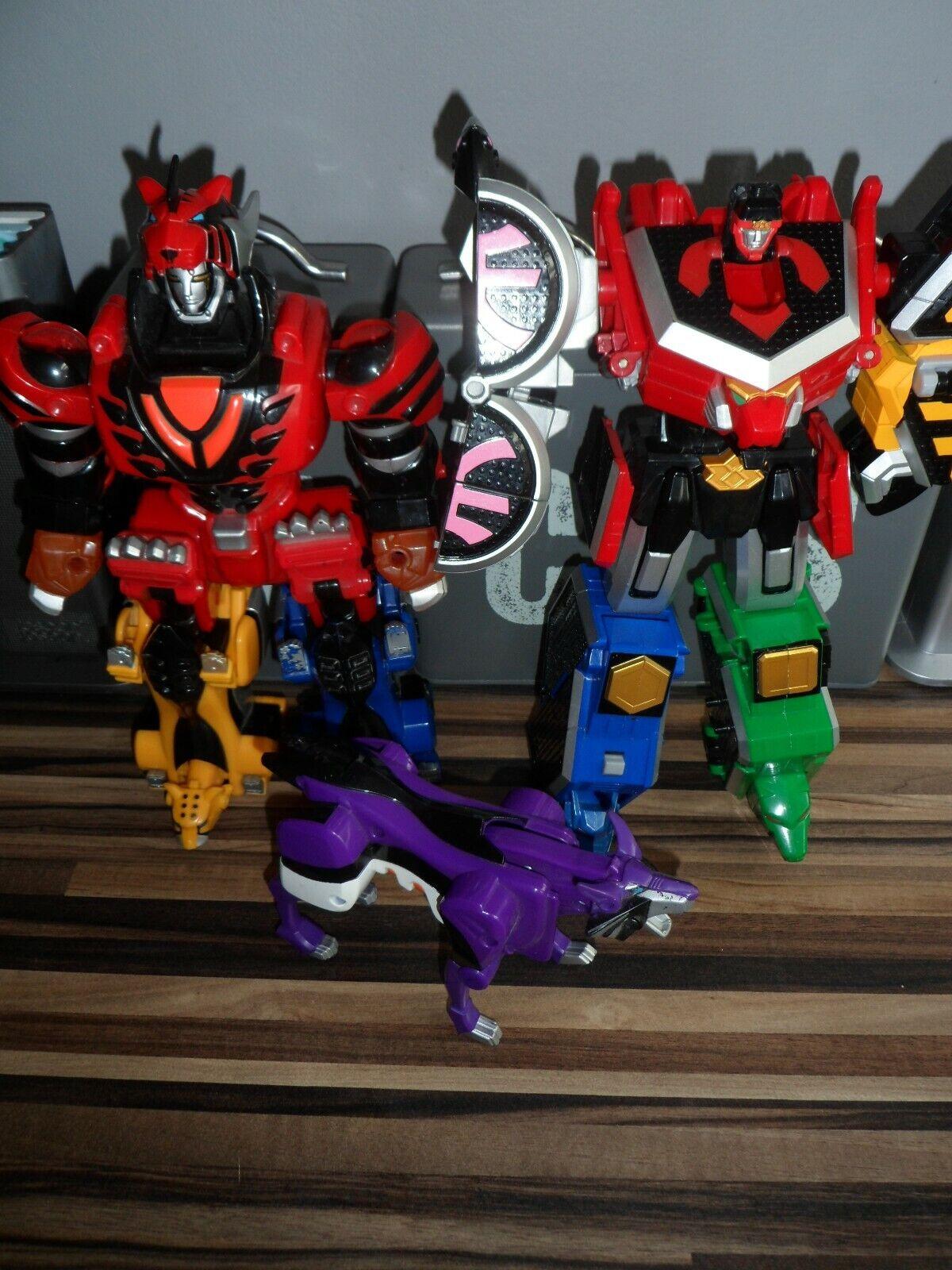Power Rangers collection de megazords Avec Violet Lunar Wolf Très  bon état  meilleure qualité meilleur prix