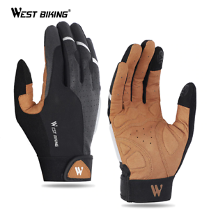 WEST BIKING Cycling Gloves Anti-slip Breathable Men Women IMPORT 4WK DELIVERY