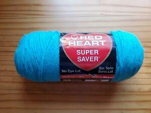 Red Heart E300.0512 Super Saver Yarn Turqua