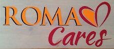2013-15 come Rom Roma cares UFFICIALE STILSCREEN AWAY FOOTBALL SHIRT Sponsor Logo