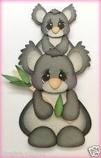 MOM AND BABY KOALA ANIMAL PAPER PIECING BY MY TEAR BEARS KIRA  PREMADE