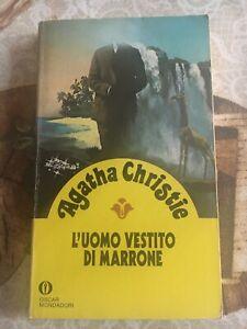 Agatha Christie L'uomo vestito di marrone - Oscar Mondadori 1991