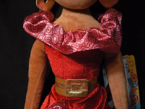 "Elena of Avalor~SOFT DOLL~20/""~50.8cm~Rag~Latina~Plush~Princess~NWT~Disney Store"