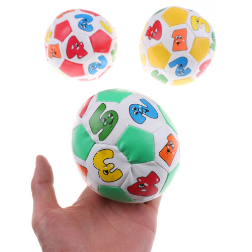Preschool Learning Color Number Educational Toy Rubber Ball For Children Kids UK