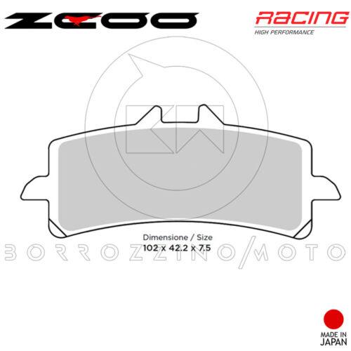 PASTIGLIE FRENO ANTERIORE ZCOO RACING B005 APRILIA RSV4 R FACTORY 1000 2009-2010
