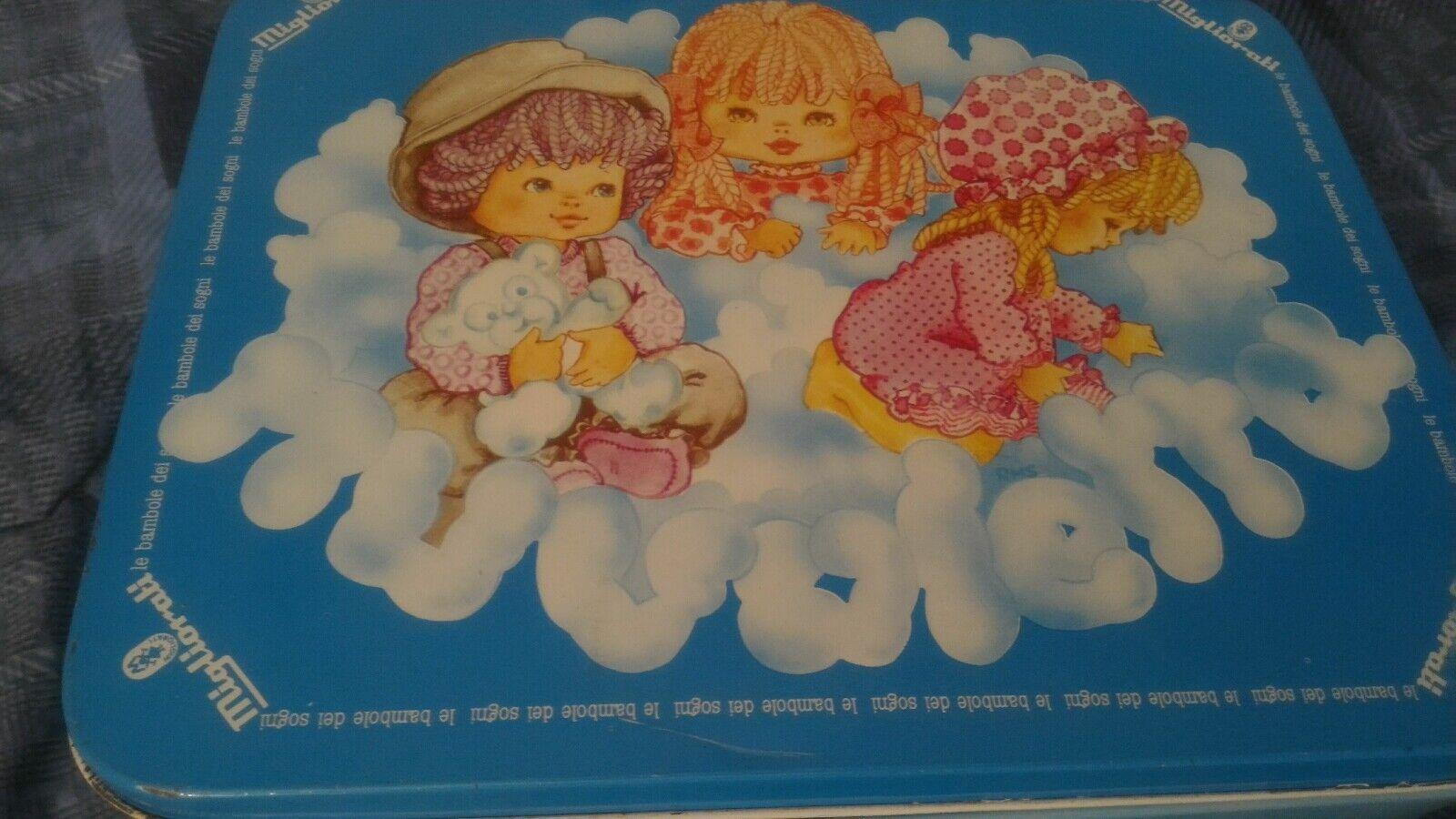 Box Zinn Vintage Verbesserte Wolke Alle Puppen der Träume 23 5x18x14 Cm