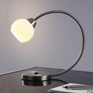 Design-LED-Tischlampe-Leuchte-Schreibtisch-Lampe-Leselampe-Nachttischlampe-T72