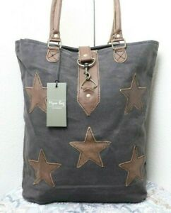 Myra Bag Star Tall And Large Canvas Tote Bag Purse Shoulder Bag For Women Ebay Poshmark makes shopping fun, affordable & easy! ebay