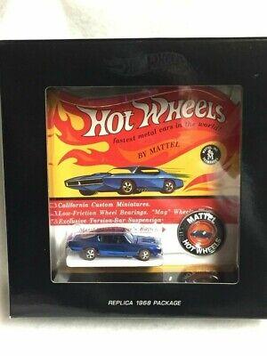 XXXX//6000 VHTF Hot Wheels RLC Original 16 Custom Barracuda NIB