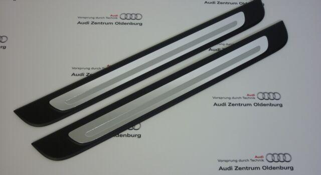 Originale Audi Battitacco Audi A4, 2-teilig, Inserto Decorativo Alluminio