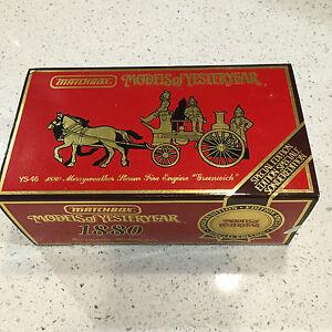 YS-46-1880-MERRYWEATHER-STEAM-FIRE-ENGINE-GREENWICH-MATCHBOX-LIMITED-Edition
