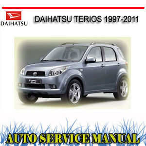 daihatsu terios 1997 2011 service repair manual dvd ebay rh ebay com au Sony Cyber-shot User Manual Audi Car User Manual