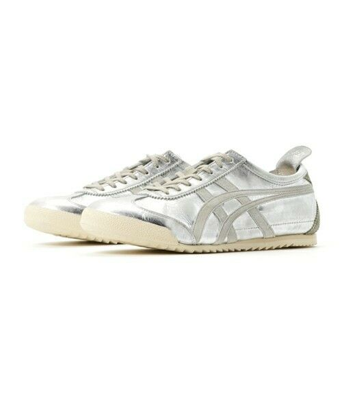 New Onitsuka Tiger MEXICO 66 DELUXE TH3N5L Silver NIPPON MADE in Japan F/S EMS