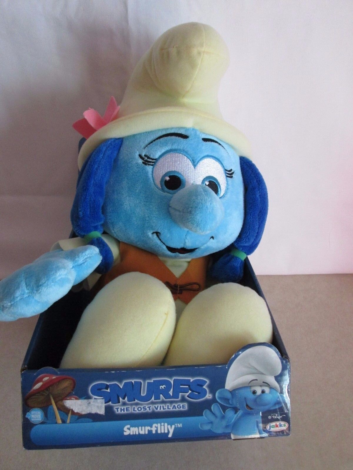 Smurflily Stuffed Smurf- The Lost Village