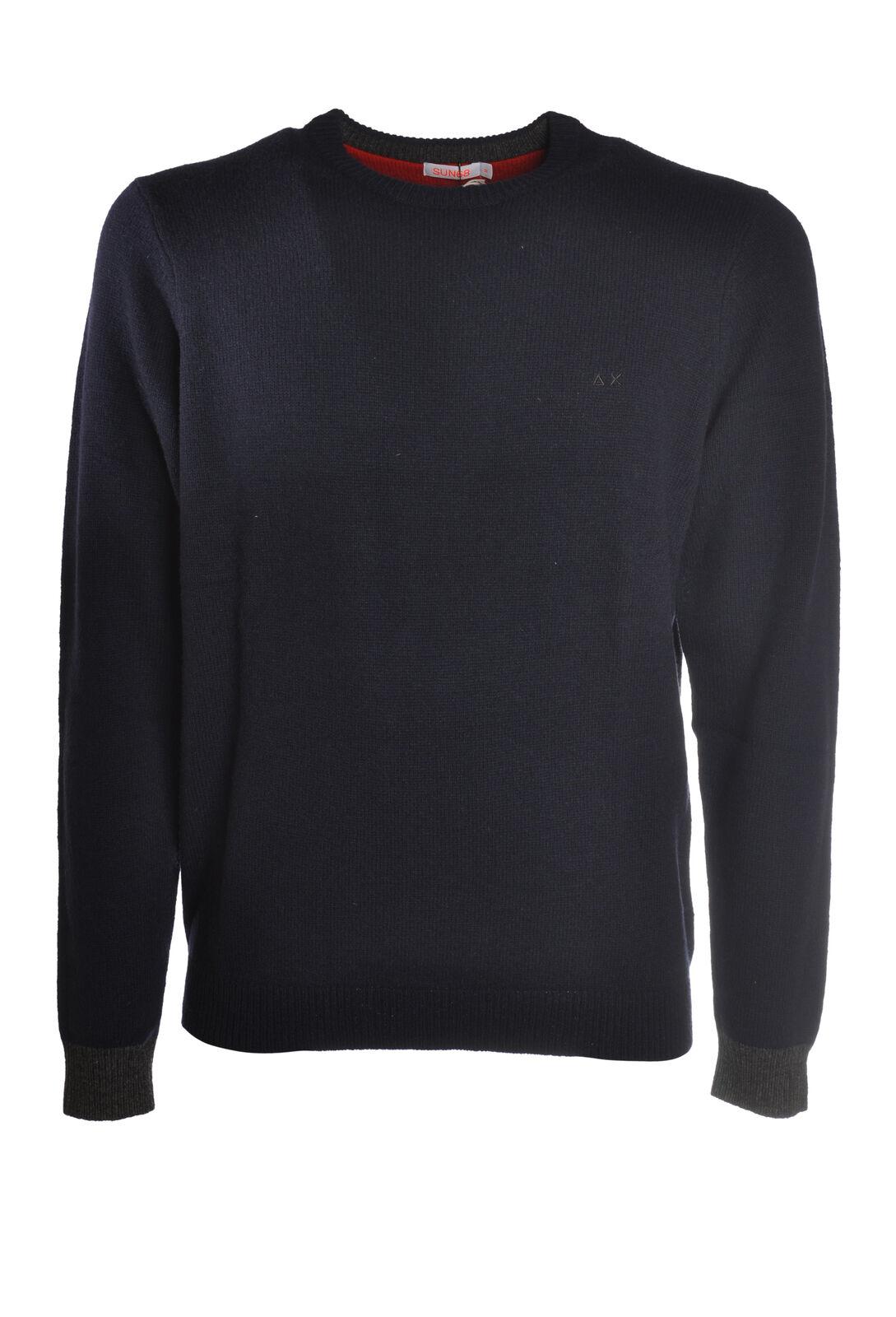 Sun 68 - Knitwear-Sweaters - Man - Blau - 5655309L185657