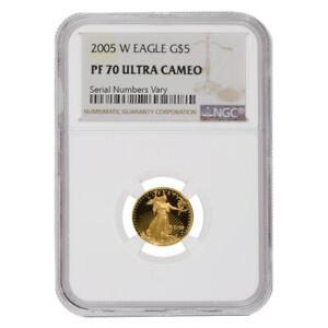 2005-W-1-10-oz-5-Proof-Gold-American-Eagle-NGC-PF-70-UCAM
