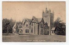 KIPPEN HOUSE, DUNNING: Perthshire postcard (C24290)