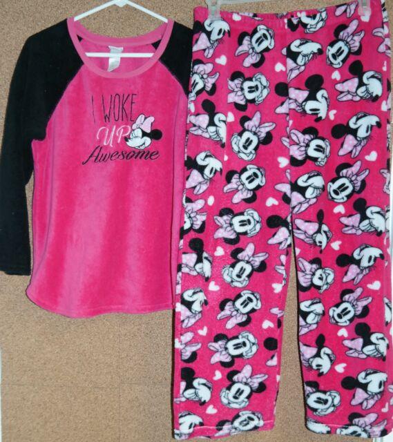 Disney Kids Ariel Fleece Pants Purple