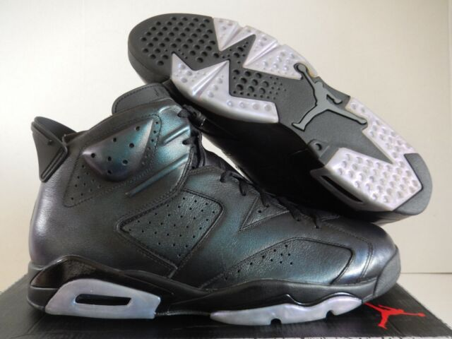 reputable site 75812 5f493 Nike Air Jordan Retro 6 as All Star Chameleon Green Black 907961-015 Size 15