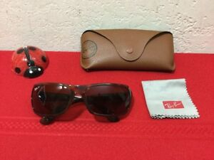 35e08bf47a RAY BAN RB 4075 642 57 3P 61MM SUNGLASSES RB4075 TORTOISE BROWN ...