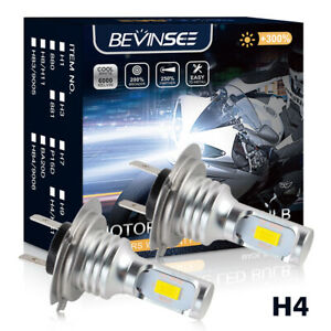 2PCS-H4-50W-Motorcycle-LED-Headlight-Bulb-FITS-Suzuki-Bandit-600-SV650-1999-2003
