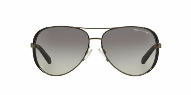 213d2c35bbffaa Michael Kors Women s Gradient Chelsea MK5004-101311-59 Black Aviator  Sunglasses