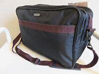 Samsonite San Marco Carry On Tote Bag Black Nylon Weekender Travel