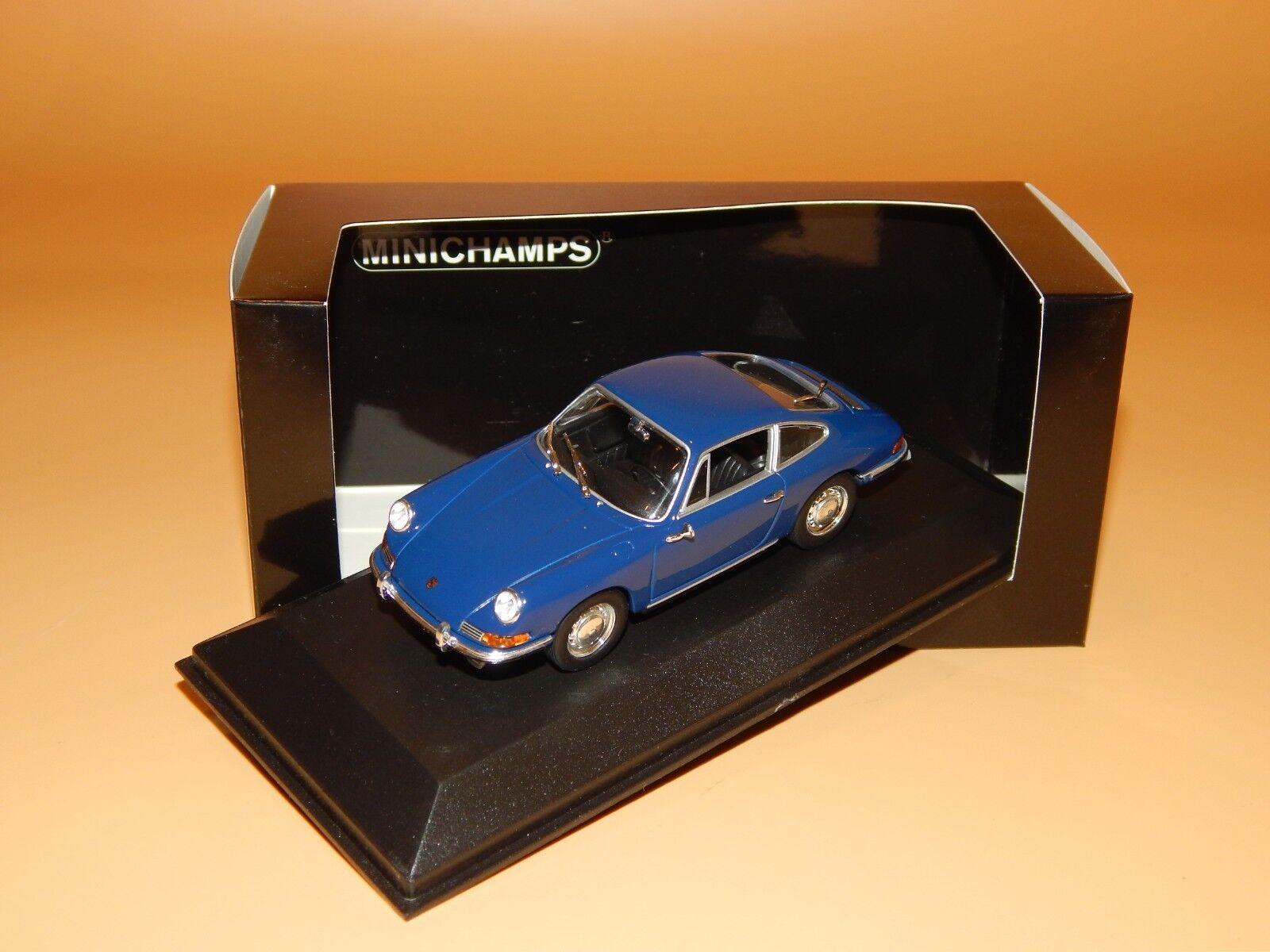 Porsche 911 T (901) 1968 in bleu de Set-Minichamps 1/43 Pma-Emballage de remplaceHommes t | Une Bonne Conservation De La Chaleur