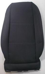 GENUINE-AUDI-A4-B7-RIGHT-FRONT-BLACK-CLOTH-SEAT-BACKREST-COVER-8E0-881-806-K-SJD