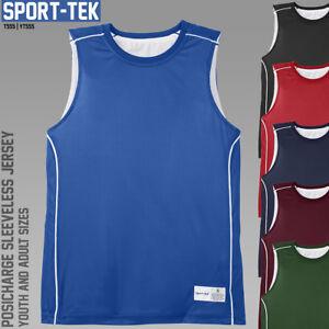 Reversible Basketball Jerseys *** Sport-Tek T555 / YT555 *** Blank Team Uniforms