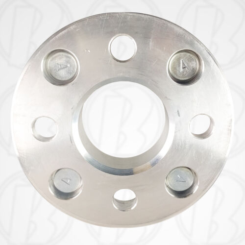 """Wheel Adapter 1/"""" Spacer 1//2 Studs To 4 x 4.5"""" 114.3mm 114.3mm 4pc 4 Lug 4.5"""""""