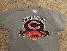 CHICAGO BEARS Monsters of the Midway NFL rare vintage 80s 50 50 t-shirt 8c3c28954