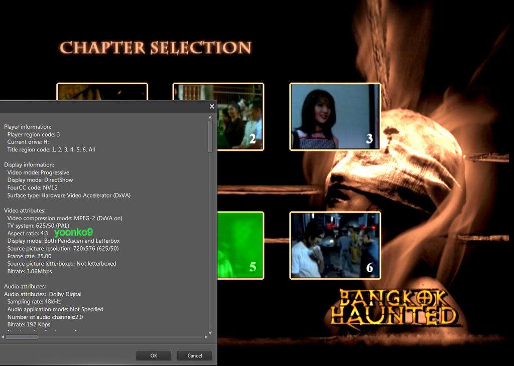 Bangkok Haunted (2005) Thai Movie English Sub PAL Region 0 Pimsiree Pimsee