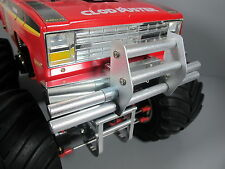 Front Upper Aluminum Front Animal Guard Bumper Push Bar Tamiya 1/10 Clodbuster