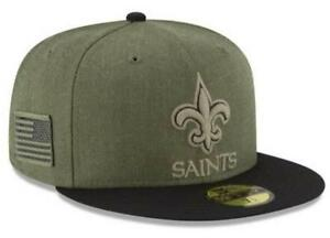 best service a75af b179c Image is loading Official-2018-New-Orleans-Saints-New-Era-NFL-