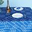 miniature 7 - Imperméable Nappe Home Table de salle à manger Protecteur Rond/Rectangulaire Table Housse