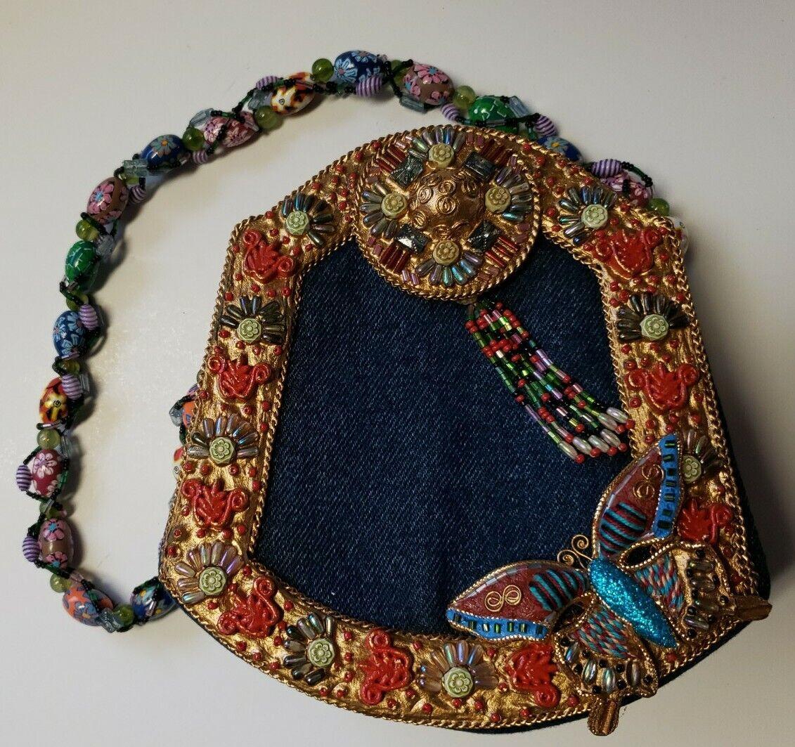 Mary Frances Butterfly Purse Handbag - image 1