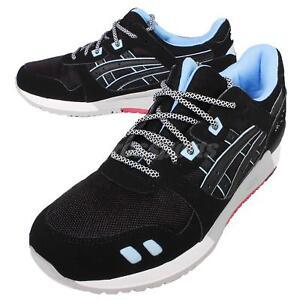 2ce0dc3cc5f8 Asics Tiger Gel-Lyte III 3 Future Pack Black Blue Mens Shoes ...