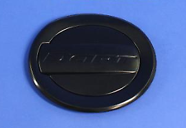 13-14 Dodge Dart New Fuel Filler Door with Dart Logo Black Mopar Factory Oem