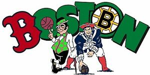 Boston Sports Fan Logo / Vinyl Vehicle Red Sox Patriots ...