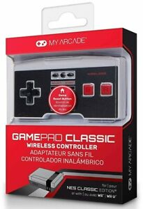 My Arcade GamePad Classic Wireless Game Controller for NES Classic/Wii/WiiU