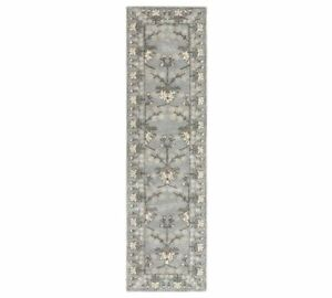 Kennedy  Hand Tufted Woolen Area Rugs and Carpet..(2.6x9) feet