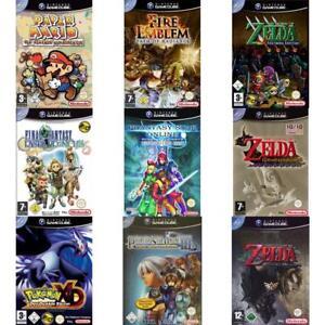 Nintendo-GameCube-Best-of-Rollenspiele-RPG-Zustand-auswahlbar