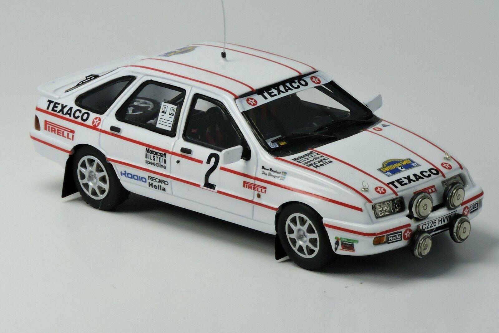 Kit Ford Sierra Xri 4X4 Rally Svezia 1987 - Arena Modelskit 1 43