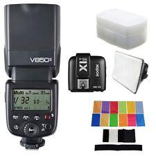 Godox V850II 2.4G Wireless Li-ion Camera Flash Speedlite+X1T-Strigger for Sony