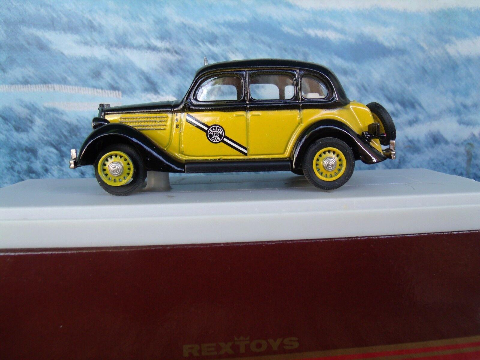 1 43  Rextoys Ford 1935  Taxi