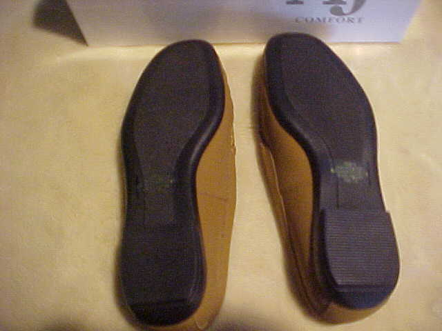 NEW DamenschuheS A J VALENCI SLIP ON  LOAFER WITH SEQUIN UPPER SIZE 7 W COLOR BRONZE