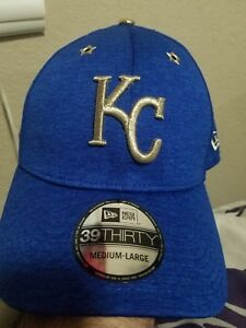 2e292c74 Details about Kansas City Royals New Era 39THIRTY Hat SZ M / L 2017 MLB All  Star Game Cap NWT