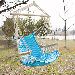 Hammock hanging rope swing chair outdoor porch backyard camping portable seat - Choosing a hammock chair for your backyard ...